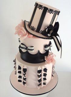 Burlesque Beauty - by Cakeage @ CakesDecor.com - cake decorating website