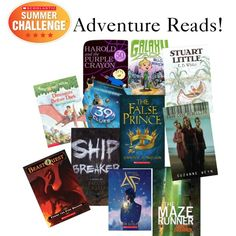 Embrace your adventurous side with these action packed reads! #Read11Books