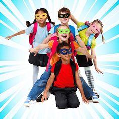 Outee 24 Pcs Superhero Masks Super Masks Halloween Mask Super Hero Cosplay Party Eye Masks Felt Masks with Elastic Rope for Kids Party, Multicolor: Amazon.co.uk: Toys & Games