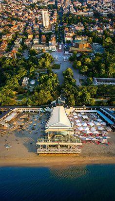 Varna | Sea Terrace | City Beach | Black Sea | Bulgaria