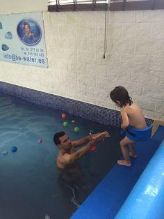 Al agua con los peques!!!  ☎️912 772 228 - 610 183 443 C/ Mario recuero, 15 www.be-water.es