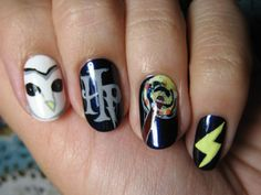 Harry Potter nails!
