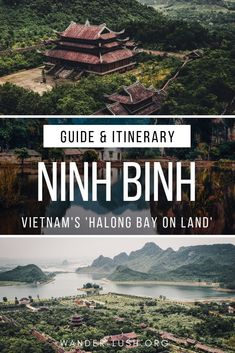 Visiting Ninh Binh from Hanoi: The Perfect Ninh Binh Itinerary : Looking for one of the best side trips from Hanoi? Ninh Binh, Vietnam's 'Halong Bay on Land', is a magical landscape of limestone karsts, winding waterways, and hidden temples. Vietnam Travel Guide, Asia Travel, Solo Travel, Con Dao, Hanoi, Cheap Places To Travel, Thailand, Backpacking Asia, By Train