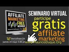 Grabación Seminario Taller Affiliate Marketing - Marketing de Afiliados Parte No. 1.