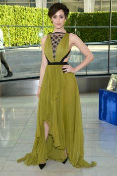 Emmy Rossum // CFDA Fashion Awards: Red-Carpet Arrivals (Photos)