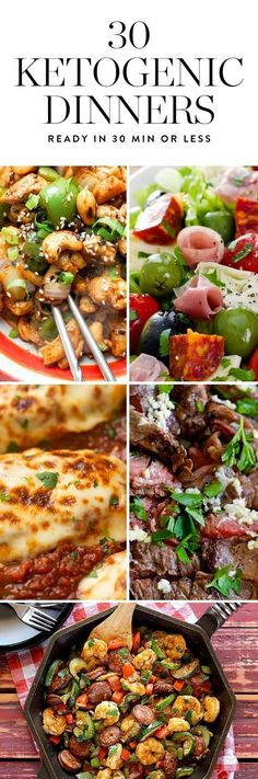 The ketogenic diet is a high-fat, moderate-protein, low-carb eating plan that could help you lose weight. If it's cool with your doctor, try one of these 30-minute keto-friendly dinners. #best_protein_diet