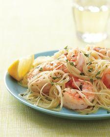 Lemony Shrimp Scampi