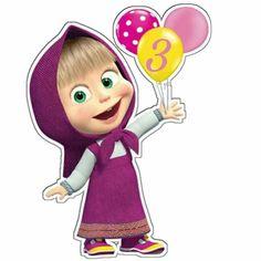 Marsha e o urso Bear Birthday, Minnie Birthday, 3rd Birthday, Marsha And The Bear, Bear Decor, Bear Party, Holiday Themes, Unicorn Party, Holidays And Events