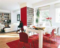 .: La decoración con el color Rojo, llena de amor tu ambiente - decorando-interiores.com