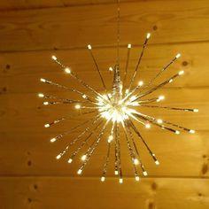 Weihnachten Weihnachtsdeko Dekoration Beleuchtung Fenster Deko Stern Leuchtstern