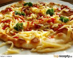 Jednoduché langoše Czech Recipes, Ethnic Recipes, Dumplings, Macaroni And Cheese, Pizza, Toast, Chicken, Kitchen, Czech Food