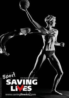 Vicki Hawkins: Sport Saving Lives ambassador  Www.savinglivesuk.com   Twitter @savinglivesuk  Image by Simon Wright
