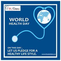 ON This Day, Let us Pledge for a Healthy Life style #HealthForAll #WorldHeathDay2018 #IMSolutions #Advertisingagency #Digitalmarketingagency #Webdesigncompany https://bit.ly/2g2PiX8