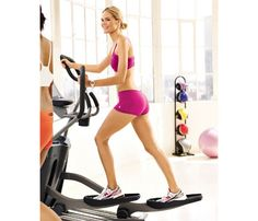 How Many Calories Are You Burning? 30 minutes on the elliptical can burn about 250 calories but be careful not to check out and watch TV. Keep your heart rate up. #SelfMagazine