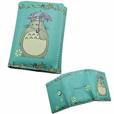 Japanischen Anime Cosplay Brieftasche GELDBÖRSE GELDBEUTEL PORTEMONNAIE KREDITKARTENETUI Regnerisch Katze totoro