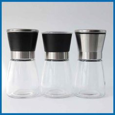 Ss 304 Manual Salt Grinder With Glass Bottle Hot Sale - Buy Salt Grinder,Salt…