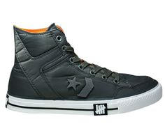 Undefeated vs. Converse Poorman Weapon High Tops In Dark Grey