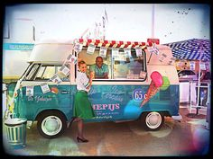 T1 VW  ''ice cream bus''