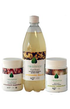 Miessence Certified Organic Healthy Body Nutritional Pack with FastTract