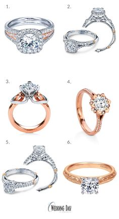 Top Picks for Rose Gold Engagement Rings from Wedding Day Diamonds | Stay Social
