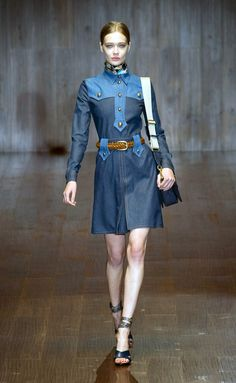 Gucci  - MFW Spring/Summer 2015 - www.so-sophisticated.com