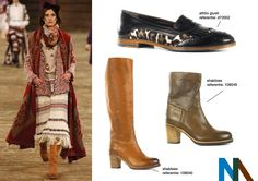 trend #11 far out far west  Deze winter vinden we veel franjes, denim en native american prints terug in de kleding. Deze wordt gecombineerd met overknee laarzen of loafers. Deze trend werd reeds gespot in de collectie van karl lagerfeld voor chanel.
