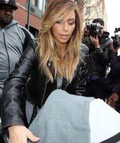 Kim Kardashian 2014 hair