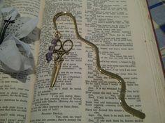 Steampunk  Bookmark  'Lady Steampunk' by cultangel on Etsy, $6.50