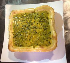 Cheese Cake de Fruta de la Pasión   Receta en AguayAjo.com