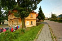 sklářská osada Na Kácku, Sázava - typical countryside