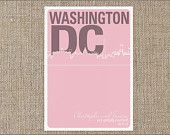 Washington DC Save the Date Wedding Save The Dates, Washington Dc, Event Planning, Etsy Shop, Handmade Gifts, Kid Craft Gifts, Craft Gifts, Homemade Gifts, Hand Made Gifts