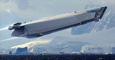 Space Ship Concept Art, Concept Ships, Spaceship Art, Spaceship Design, Space Fantasy, Sci Fi Fantasy, Starship Concept, Sci Fi Spaceships, Sci Fi Ships