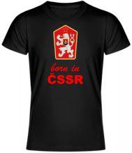 Kvalitné tričko born in ČSSR, UNISEX, dostupné vo viacerých farbách a veľkostiach, 100% bavlna.