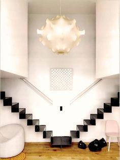 Escada espelhada
