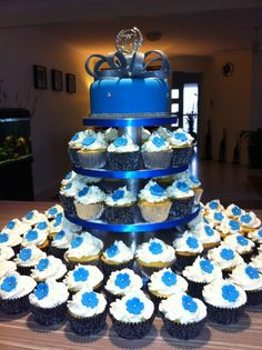 Blue Birthday Cake Zeta