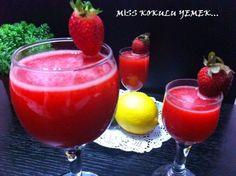http://miskokuluyemek.blogspot.com.tr/2014/04/ev-yapimi-limonata.html MİSS KOKULU ANLAR: ÇİLEKLİ LİMONATA
