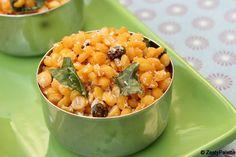 lentil salad  Channa Dal Sundal (Kadala Paruppu Sundal)
