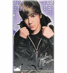 Justin Bieber Plastic Table Cover by MyBirthdaySupplies. $4.45. Durable and strong. 54x84 inch. One 54 X 84 inch Justin Bieber theme table cover made of durable plastic. Get rid of the party mess with this easy to clean table cover. It is made of good quality plastic so that you can even use it after your party is over. This rockstar theme party accessory will surely get you some true fans. Make your daughter's day special by choosing our Justin Bieber party supplies.