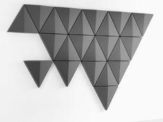 3D обшивка стен BITS WALL by Abstracta | дизайн Anya Sebton