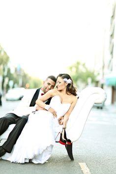Carolina Panthers Wedding: http://www.stylemepretty.com/2015/02/01/favorite-nfl-weddings/