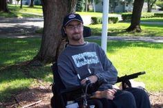 """What message would Miller like to share about individuals in wheelchairs? """"We're normal people,"""" he said. Persons in wheelchairs have a physical disability…they may be quadriplegic or paraplegic but """"we're not mentally deficient."""""""