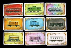 Ticket to Ride Europe - Train Cards