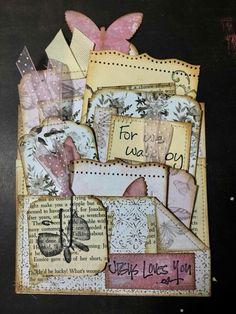 prayer pockets Cool Journals, Fabric Journals, Art Journals, Paper Pocket, Pocket Cards, Pocket Envelopes, Journal Cards, Junk Journal, Scrapbook Embellishments