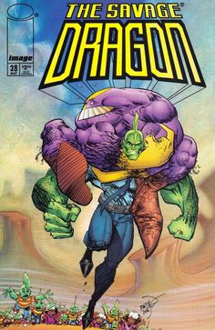 Image Comics Savage Dragon The Series Erik Larsen Comic Book Maxx Comic Book Covers, Comic Books Art, Book Art, Gi Joe, Dragon Ball Z, Savage Dragon, Dragon Series, Emoji Symbols, Comic Book Superheroes