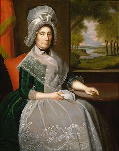 Mrs Richard Alsop, 1792, Ralph Earl | Smithsonian Art Museum.