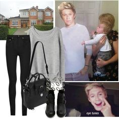 Visiting Niall's family, while hes on Tour - Polyvore
