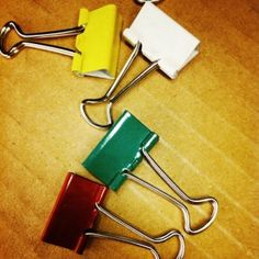 13 Uses for Binder Clips