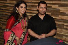 Aamir Khan at Shaina NC-Manish Malhotra Pidilite Show for CPAA