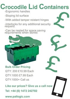 Give us a call about our croc boxes! 01472 242702