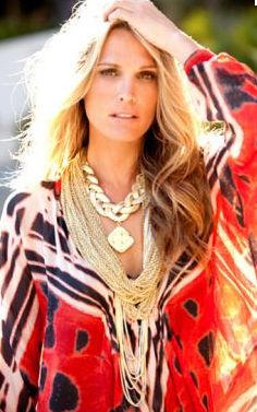 Molly Sims..for the summer...hair, make up, outfit!